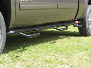 N-FAB Step Bars 14-17 Chevy - GMC truck 1500 Double Cab 6.5' bed