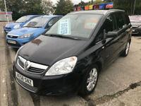 58 REG Vauxhall Zafira 1.8i 16v Elite BLACK