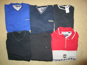 Ralph Lauren Chaps, Tommy Hilfiger and Timberland Sweaters