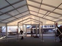 Want to work? Don't mind the outdoors? Crest Marquees is looking for marquee riggers.