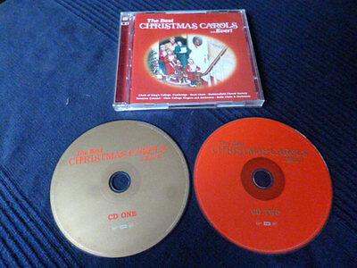 2xCD Best Christmas Carols Ever Weihnachten Christmas Bach Choir Noel
