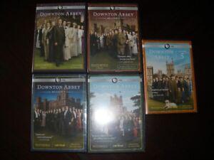 DOWNTON ABBEY DVD'S SEASON'S