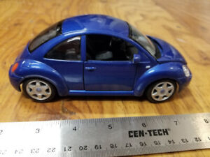 Die Cast 1/24th scale Volkswagen New Beetle, Bug