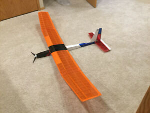 RC Gentle Lady 2m Electric Glider.