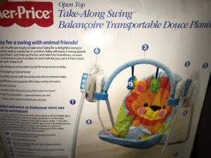 Baby Swing ( Take along by Fisher Price ) MINT LIKE NEW