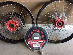 Crf 250/ 450 Pro Wheel Rim Set