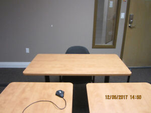 4' x 2' Table with Casters