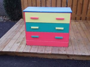 Cute painted chest/commode