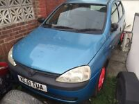 Corsa 1.7 turbo diesel 4 brand new tyres and alloys