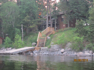 Lake of the Woods lakefront cabin