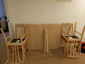 FREE! Dining Table and 4 Chairs