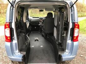 2014 Fiat Qubo 1.4 8V MyLife 5dr RIDE UP WHEELCHAIR ACCESSIBLE VEHICLE 5 door...