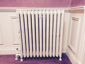 Excellent Condition Antique Cast Iron Radiators Avail May 24th