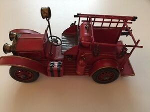 Old Metal Fire Truck #1 (New)