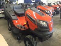 Husqvarna tc 142 v twin ride on lawnmower mower