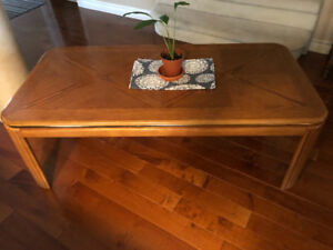 Old sewing stand, coffee table+