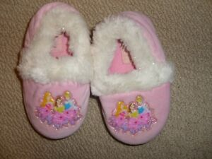 Disney Princess Slippers Size 7/8
