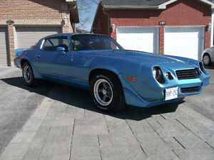 1980 Z28 4-SPEED LT1  WITH COLD AIR