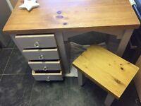 Solid OAK dressing table