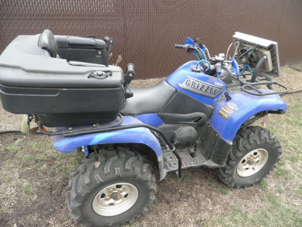 Used 2002 Yamaha grizzly