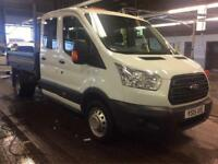 Ford Transit 350 L3 DCB Crewcab TIPPER 125PS DRW