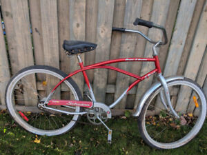 Men's Beach Cruiser Bike (Schwinn 3 speed)