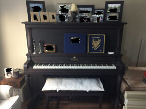 FREE Antique Gourlay Piano - Upright Grand