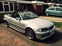 Bmw 325i MSPORT convertible 18 inch chrome alloys HARMAN KARDON system quick sale