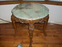 TABLE ROND BAROQUE