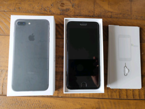 LNIB ~ iPhone 7 Plus 128G Jet Black