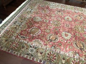 2 Beautiful 100% Wool Hand-Knotted Persian Rugs for Sale