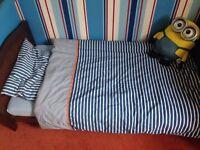 IKEA Toddler bedding, duvet n pillow set.