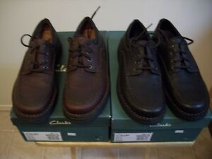 Clark's leather ranger shoes