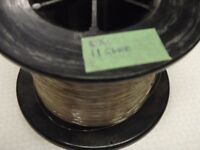 23.5 pounds of 18 thou stainless trolling wire (25 pounds test)