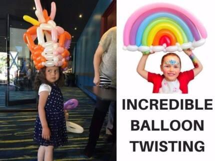 INCREDIBLE BALLOON TWISTING