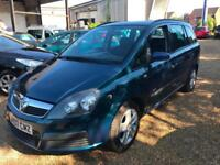 Vauxhall Zafira 1.6i 16v ( a/c ) 2007 Life - MOT 05/09/2018 - PART EX TO CLEAR