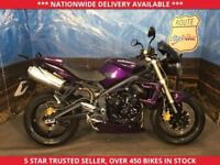 TRIUMPH STREET TRIPLE 675 NAKED SPORTS LOW MILES 2012 12 PLATE
