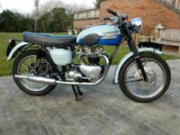 Triumph Bonneville T120 649cc 1960 Matching Numbers
