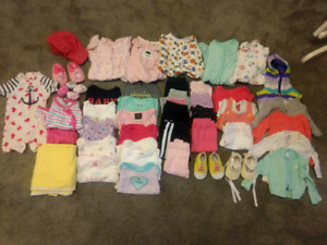 Lots of baby clothes!