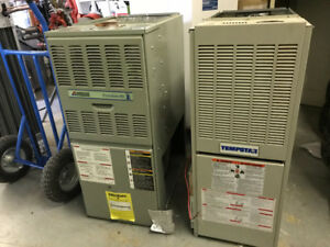 Natural  gas furnaces 80% efficiency