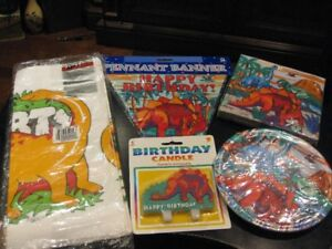 NEW Dinosaurs Party/Birthday Supplies, Stickers