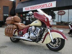 2017 Indian Motorcycle Roadmaster Classic Indian Motorcycle  Red