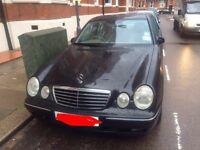 Mercedes Benz E320 Avantgarde CDI. 2000 X-Reg. Quick sale needed