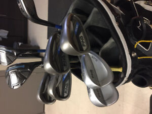 Ping G30  irons and Adams tightlies hybrids right handed