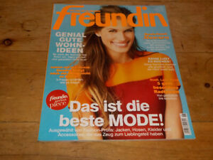 FREUNDIN - GERMAN MAGAZINE