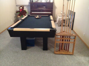 "Pool Table 87"" X  48"" For Sale"