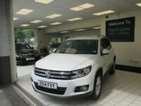 2014 14 VOLKSWAGEN TIGUAN 2.0 MATCH TDI BLUEMOTION TECHNOLOGY 4MOTION 5D 139 BHP