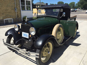 1929 Ford Model A Pickup - Newly Repaired but All Original London Ontario image 5