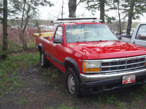 Parts truck 1991 Dodge Dakota v8 4x4