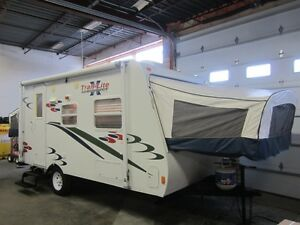 2008 Trail Lite Crossover TLX-180T Hybrid Travel Trailer